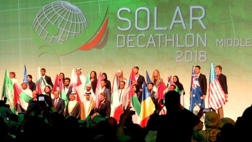 ​Конкурс ​Solar Decathlon Middle East 2018, Дубай, ОАЭ