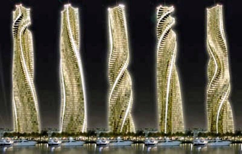 Вращающаяся башня дубай арабские эмираты видео недвижимость в испании в рублях
